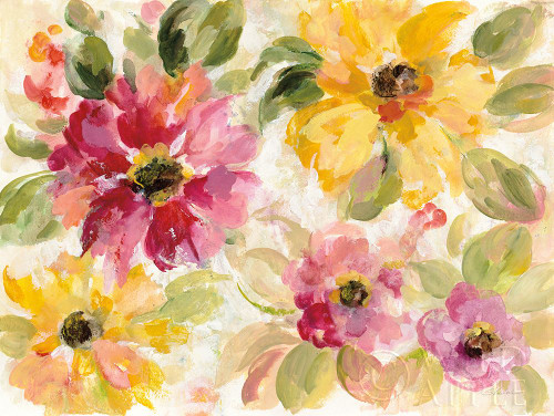 Floral Radiance Poster Print by Silvia Vassileva - Item # VARPDX44166