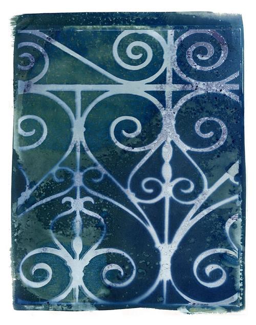 Wrought Iron Cyanotype II Poster Print by Nancy Green - Item # VARPDXRB12895NG