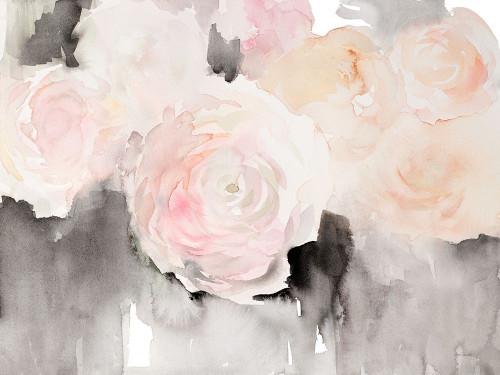 Modern Blushing Blooms Poster Print by Lanie Loreth - Item # VARPDX13157