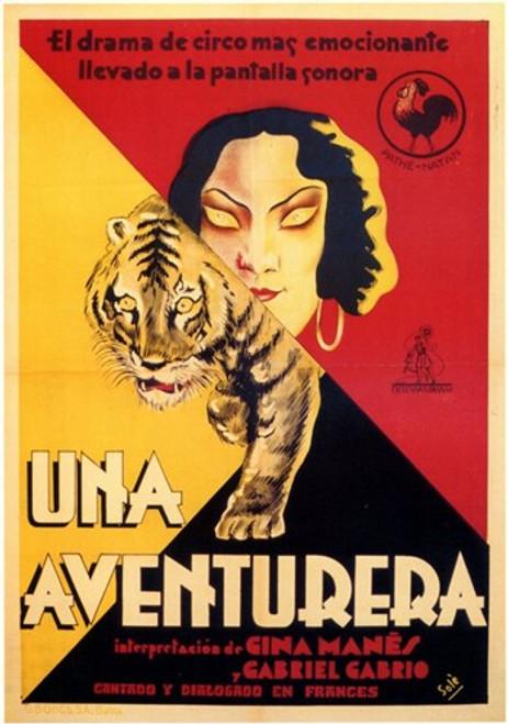 Una Aventurera Movie Poster (11 x 17) - Item # MOV206690