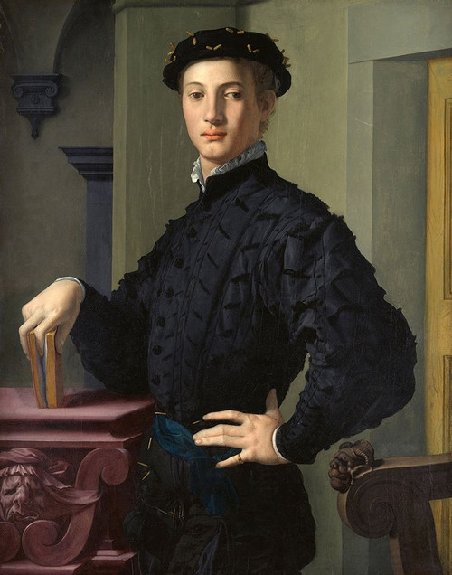 Portrait of a Young Man Poster Print by Agnolo Bronzino - Item # VARPDXB3610D