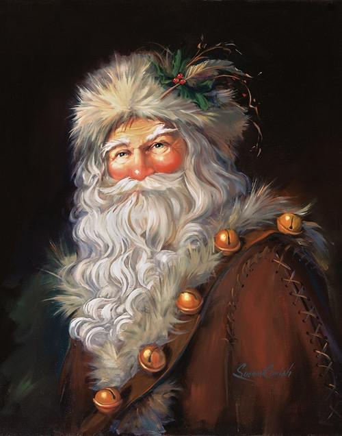 Woodland Santa Poster Print by Susan Comish - Item # VARPDXSCM1018