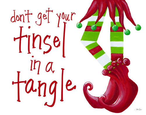 Dont Get Your Tinsel in a Tangle Poster Print by Gina Ritter - Item # VARPDX12559MM