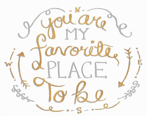 You are My Favorite I Poster Print by SD Graphics Studio - Item # VARPDX10941K