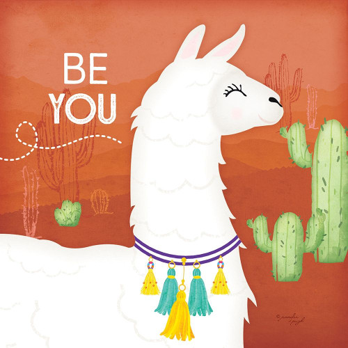 Be You Llama Poster Print by Jennifer Pugh - Item # VARPDXJP5924