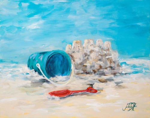 Sandcastles II Poster Print by Julie DeRice - Item # VARPDX10191D