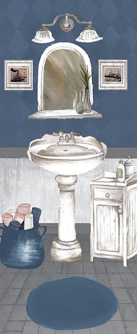 White Wash Bath II Poster Print by Elizabeth Medley - Item # VARPDX9257AN