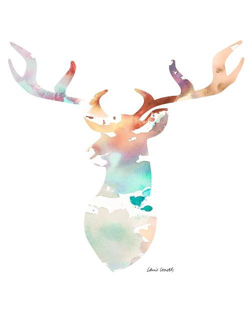 Spring Deer Poster Print by Lanie Loreth - Item # VARPDX12400D