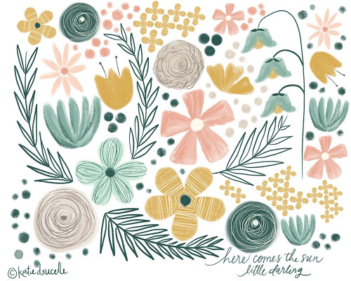 Little Darling Poster Print by Katie Doucette - Item # VARPDXKA2150