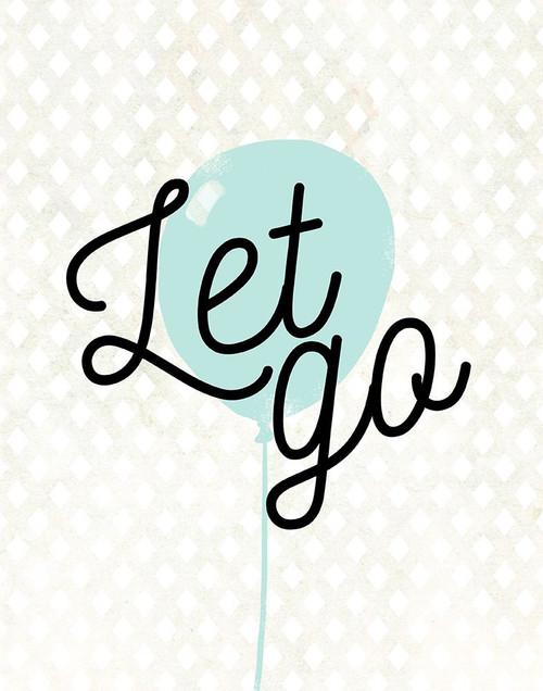 Let Go Poster Print by Anna Quach - Item # VARPDX13653GD