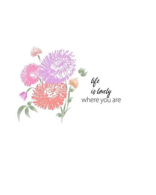 Life is Lovely Poster Print by Ramona Murdock - Item # VARPDXRM2243