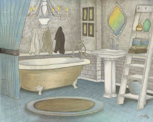 Pastel Bath II Poster Print by Elizabeth Medley - Item # VARPDX10849