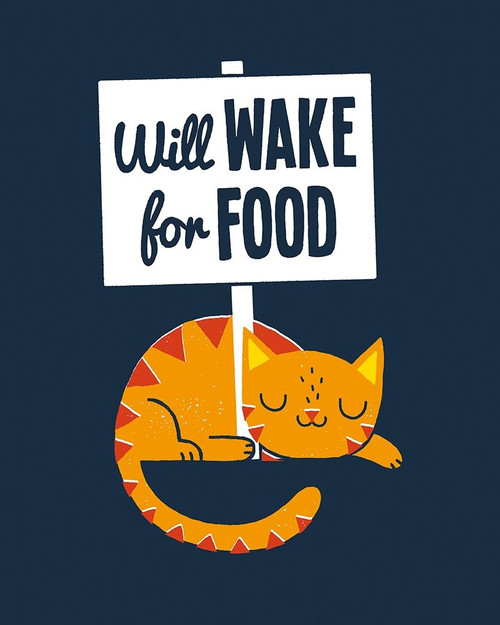 Will Wake for Food Poster Print by Michael Buxton - Item # VARPDXB3636D