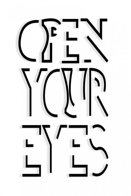 Open Your Eyes Poster Print by SD Graphics Studio - Item # VARPDX11107AC
