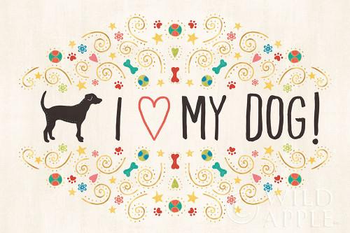 Otomi Dogs I Poster Print by Veronique Charron - Item # VARPDX44027