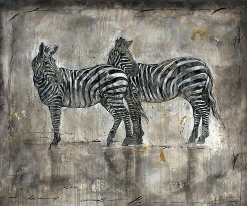 Zebras Poster Print by Marta Wiley - Item # VARPDXW973D