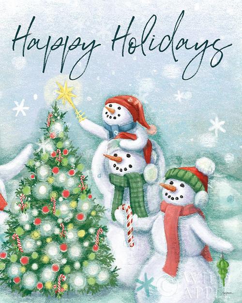 Classic Snowmen VI Poster Print by Mary Urban - Item # VARPDX47167