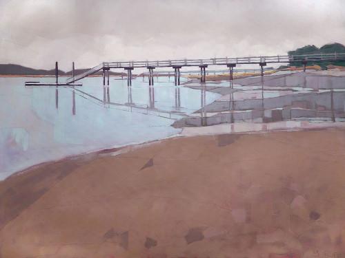 Morning Low Tide Poster Print by John Rufo - Item # VARPDXR1186D