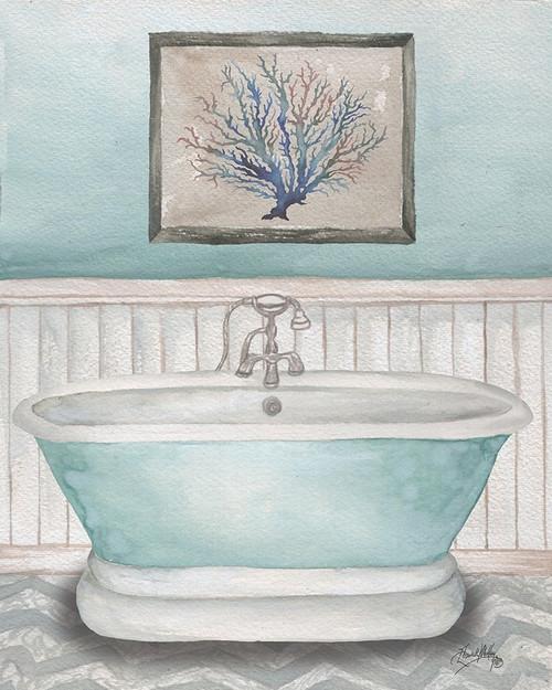 Nautical Bath I Poster Print by Elizabeth Medley - Item # VARPDX13317