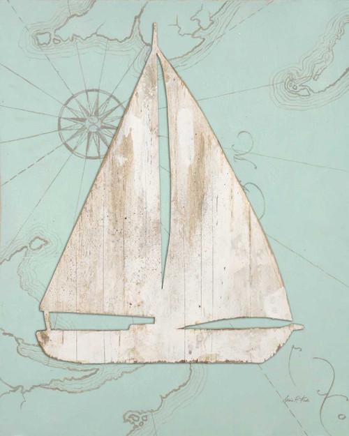 Coastal Sailboat Poster Print by Arnie Fisk - Item # VARPDX011FIS1163