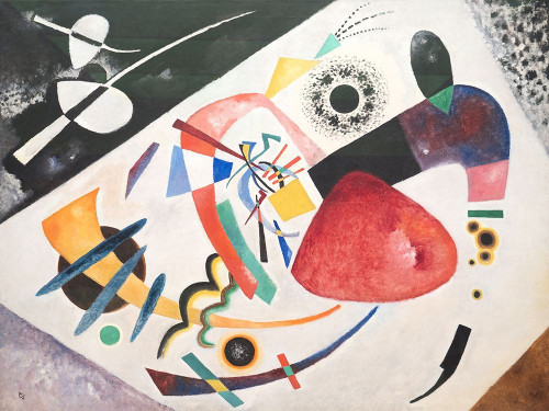 Roter Fleck Poster Print by Kandinsky Wassily - Item # VARPDX3WK4342