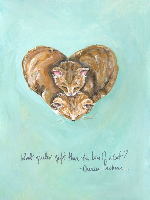 Love of a Cat Poster Print by Molly Susan Strong - Item # VARPDXMO1177