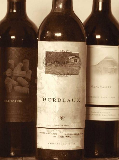 Wine Bottles I Poster Print by Gail Peck - Item # VARPDX10972T
