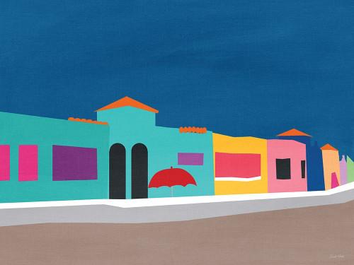 Capitola Beach Poster Print by Linda Woods - Item # VARPDXLW4061
