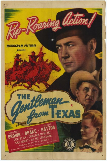 Gentleman from Texas Movie Poster Print (27 x 40) - Item # MOVGH6649