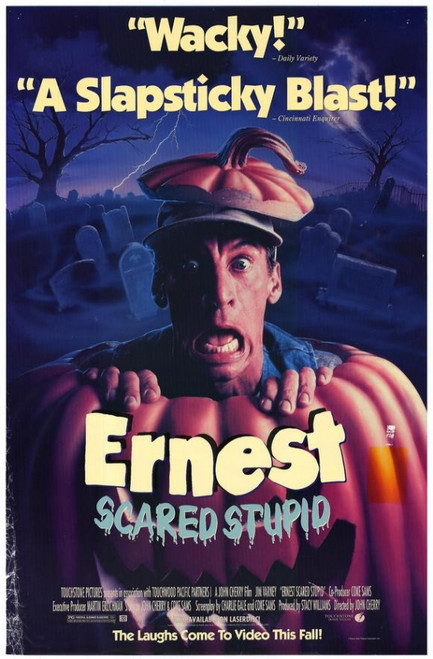 Ernest Scared Stupid Movie Poster Print (27 x 40) - Item # MOVAH5342
