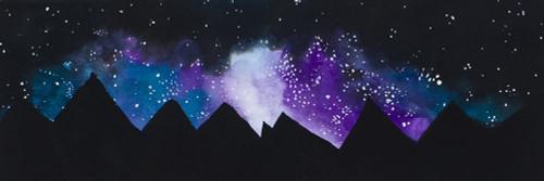 Stars over the Mountains Poster Print by Amaya Bucheli - Item # VARPDX12726J