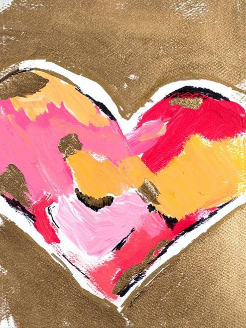 Heart Full of Love II Poster Print by L. Hewitt - Item # VARPDX13247A