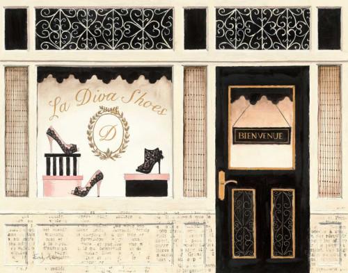 La Diva Shoes Poster Print by Emily Adams - Item # VARPDX11767