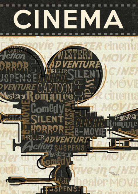 Cinema I Poster Print by Pela Studio - Item # VARPDX10183