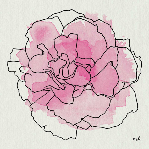 Watercolor Floral III Poster Print by Moira Hershey - Item # VARPDX12373