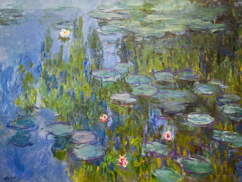Monet, Claude Poster Print by Seerosen - Item # VARPDXM1593D