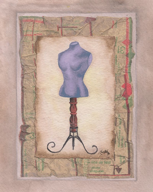 Dress Forms III Poster Print by Mary Beth Baker - Item # VARPDX13536F