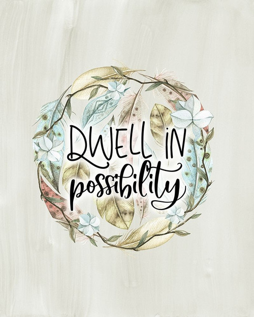 Dwell in Possibility Poster Print by Tara Moss - Item # VARPDXTA2098