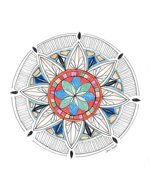 Spring Mandala Poster Print by Lanie Loreth - Item # VARPDX13086