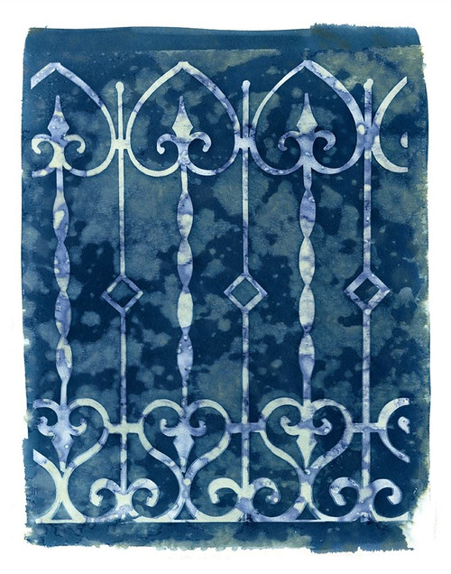 Wrought Iron Cyanotype IV Poster Print by Nancy Green - Item # VARPDXRB12897NG