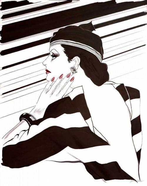 Fashion Women IV Poster Print by Linda Baliko - Item # VARPDX10525A