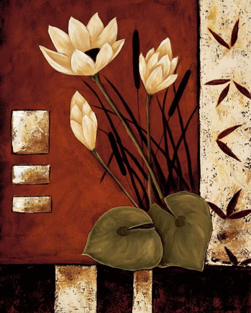 Lotus Silhouette I Poster Print by Krista Sewell - Item # VARPDX12269