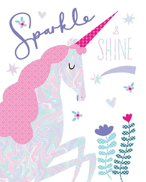 Sparkle Unicorn Poster Print by Charlotte Pepper - Item # VARPDX40411