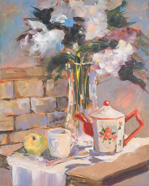 Tea Rose Poster Print by Jane Slivka - Item # VARPDX9929B