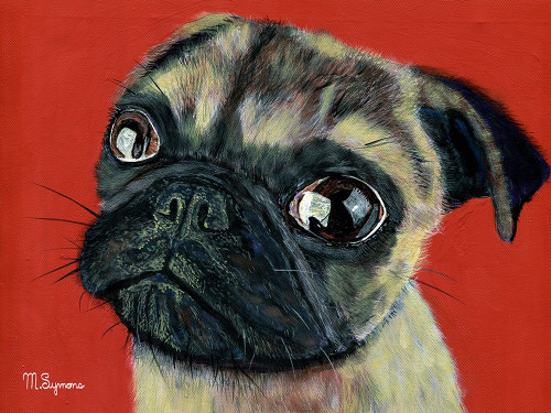 Pugly Poster Print by Melissa Symons - Item # VARPDXS1663D
