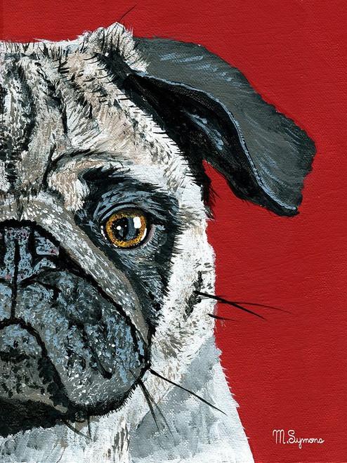 Pug a Boo Poster Print by Melissa Symons - Item # VARPDXS1662D
