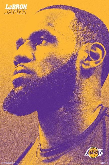 Los Angeles Lakers - Lebron James Poster Print - Item # VARTIARP17214