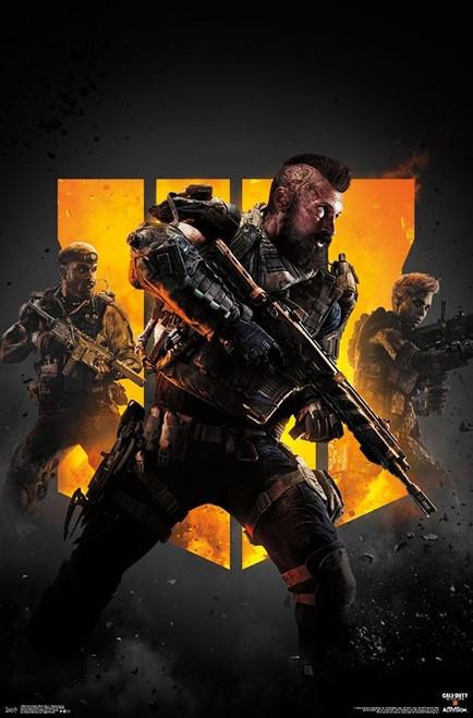 Call of Duty Black Ops 4 - Group Key Art Poster Print - Item # VARTIARP17000