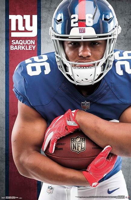 New York Giants - Saquon Barkley Poster Print - Item # VARTIARP17032