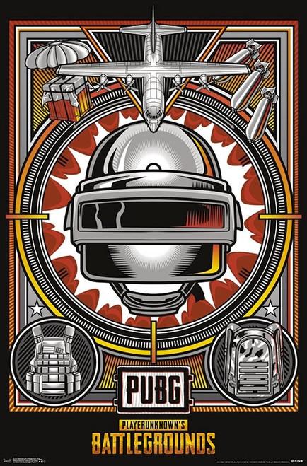 PlayerUnknown's Battlegrounds - Drop Poster Print - Item # VARTIARP17196